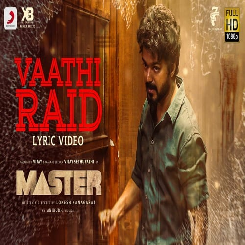 Master – Vaathi Raid BGM Ringtone Download
