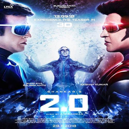 2.0 (Enthiran 2) Ringtones and BGM Mp3 Download (Tamil)