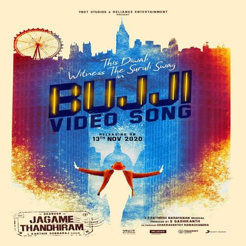 Dhanush Jagame Thandhiram - Bujji Ringtone Download