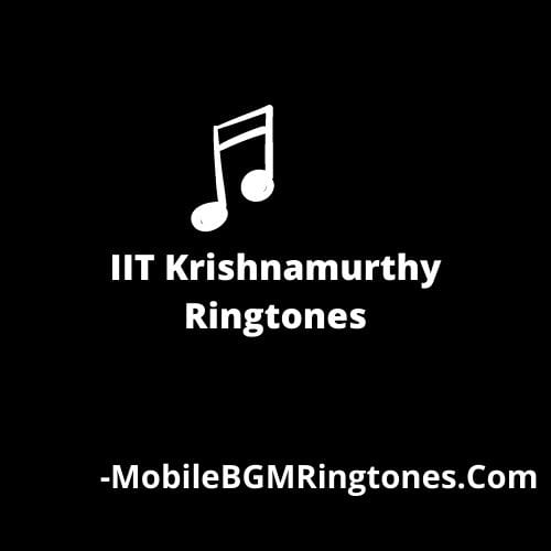 IIT Krishnamurthy Ringtones and BGM Mp3 Download (Telugu)