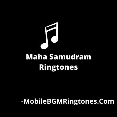 Maha Samudram Ringtones [Download]
